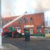 Пожар в центре Тучкова
